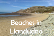 Click for beaches in Llandudno